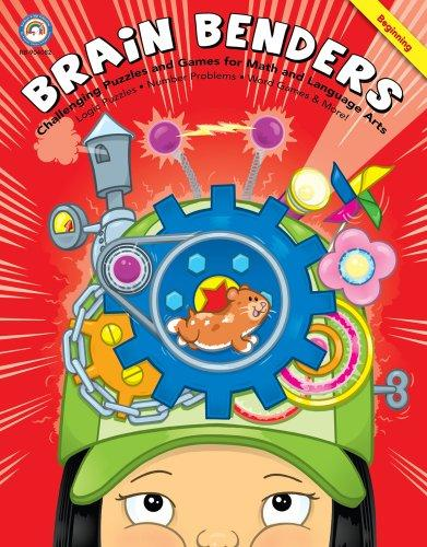 Brain Benders: Challenging Puzzles and Games for Math and Language Arts, Beginning