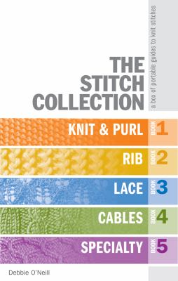 The Stitch Collection: A Box of Portable Guides to Knit Stitches