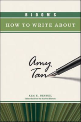 Bloom's How to Write About Amy Tan (Bloom's How to Write About Literature)
