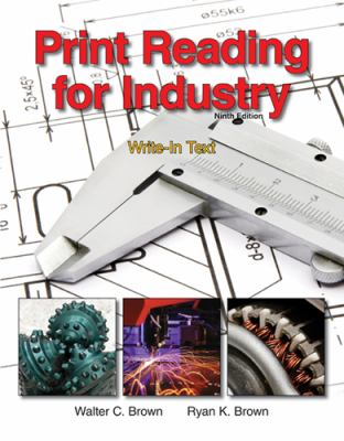 Print Reading for Industry: Write-in Text/ Large Prints for Use With Write-in Texts