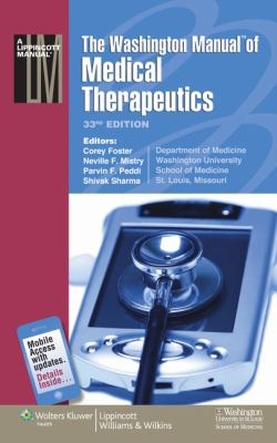 The Washington Manual of Medical Therapeutics (Spiral Manual Series)