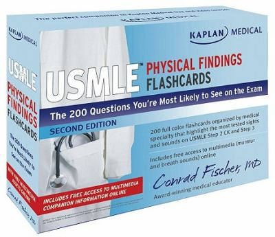 Kaplan Medical USMLE Physical Findings Flashcard : The 200 Questions You're Most Likely to See on the Exam