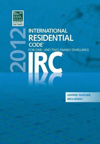 2012 International Residential Code Pdf Cd Single Seat