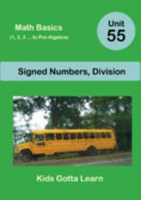 Math Basics (1, 2, 3 ... to Pre-Algebra); Unit 55
