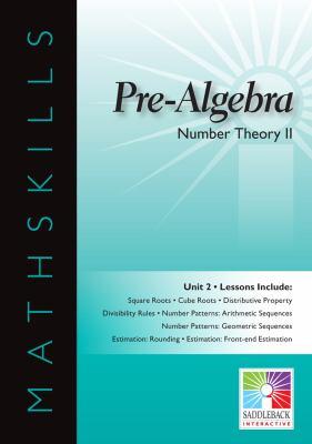 IWB Pre-Algebra Unit 2