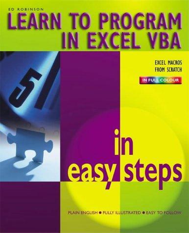 Excel VBA in Easy Steps