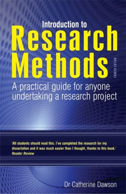 Introduction to Research Methods: A Practical Guide for Anyone Undertaking a Research Project