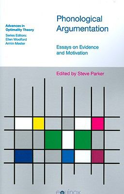 phonological argumentation essays on evidence and motivation Handbook of phonology my current concerns are evidence for generative phonological theories,  phonological argumentation: essays on evidence and motivation.