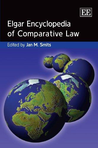 Elgar Encyclopedia of Comparative Law (Elgar Original Reference)