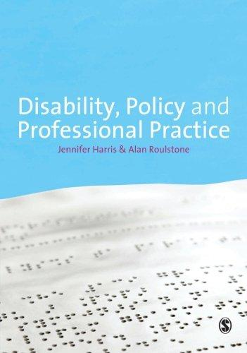 Disability, Policy and Professional Practice
