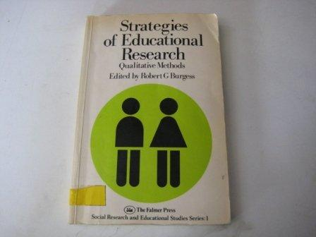 STRAT OF EDUC RESEARCH PB (Social Research and Educational Studies Series)