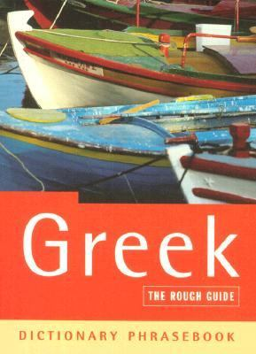Rough Guide Dictionary Phrasebook Greek