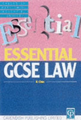Essentials on GCSE Law - Kenny Chin - Paperback