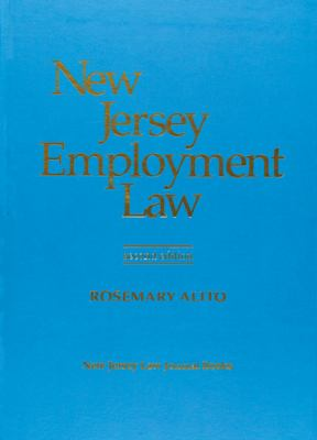 New Jersey Employment Law / With Supplement 2000