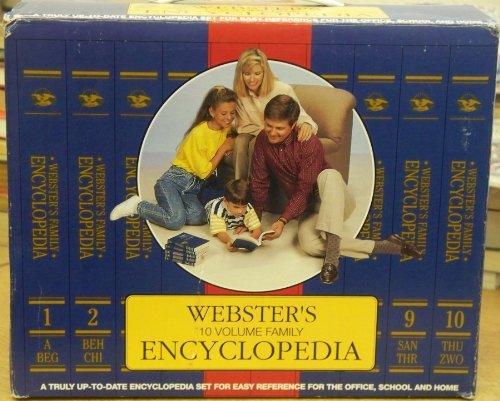 Webster's Ten Volume Family Encyclopedia