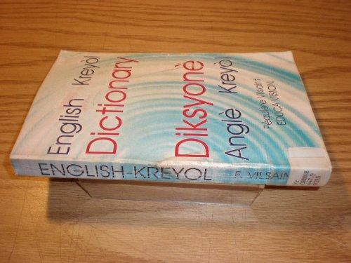 Diksyone Kreyol Angle (Creole-English Dictionar   Y)