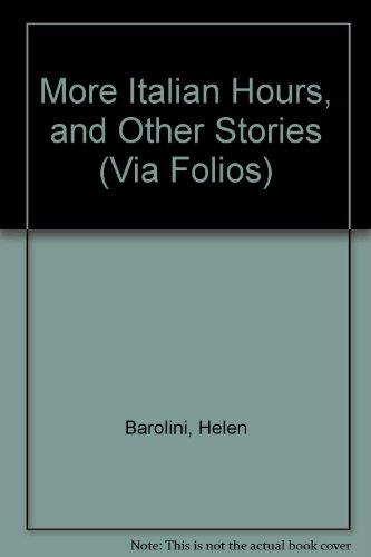 More italian hours other stories via folios rent for And other stories italia