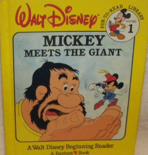 Mickey Meets The Giant #1 Fun-To-Read Library