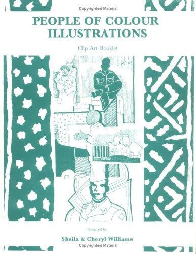 People of Colour Illustrations Clip Art Book, Vol. 1, No. 3