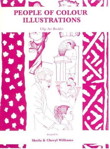 People of Colour Illustrations Clip Art Book, Vol. 1, No. 4
