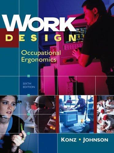 work design occupational ergonomics pdf