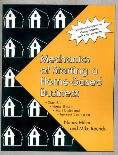 Mechanics of Starting a Home-Based Business