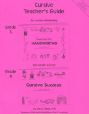 Cursive Teacher's Guide