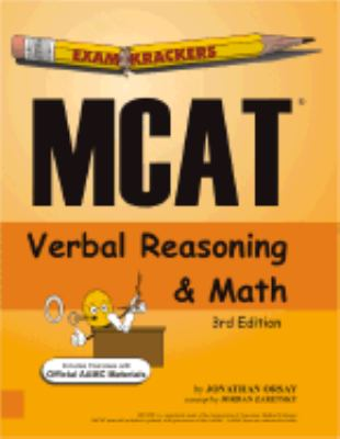 Examkrackers McAt Verbal Reasoning and Math