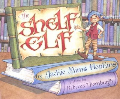 Shelf Elf With Library Lessons