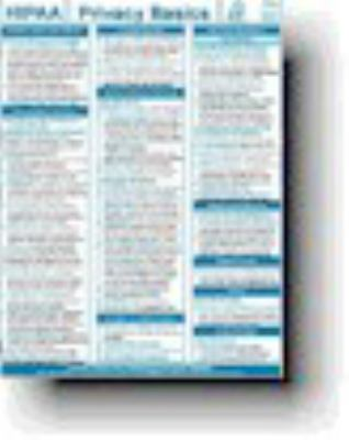 PRG Quick Notes HIPAA Privacy Basics