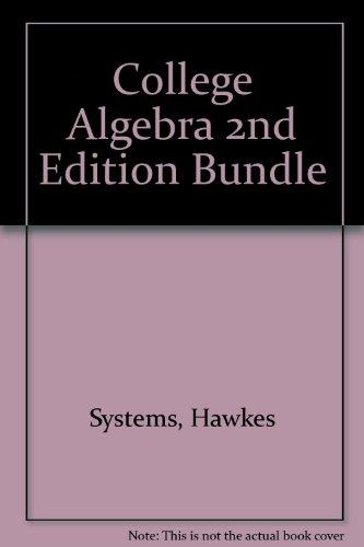 College Algebra 2nd Edition Bundle