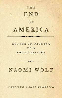 End of America Letter of Warning to a Young Patriot