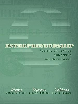 Entrepreneurship Venture Initiation, Management, and Development