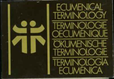 Ecumenical Terminology