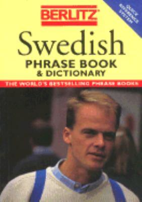 Swedish Phrase Book - Berlitz Publishing