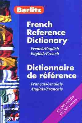 Berlitz French-English Reference Dictionary