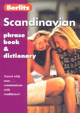 Berlitz Scandinavian Phrase Book (English and Swedish Edition)