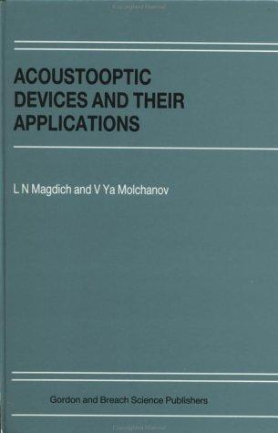 Acoustooptical Devices and Their Applications