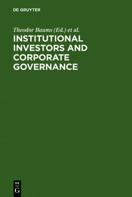 institutional holdings and corporate governance In this study we examine the relation between corporate governance and  institutional ownership our empirical results show that the fraction of a  company's.