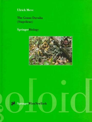 The Genus Duvalia (Stapelieae): Stem-Succulents between the Cape and Arabia (ACTA Neurochirurgica)