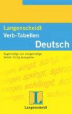 Langenscheidt's Verb-tabellen