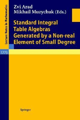 Standard Integral Table Algebras Generated by a Non-Real Element of Small Degree