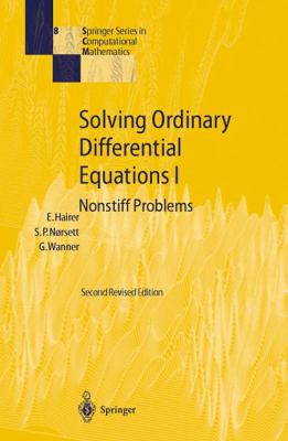 Solving Ordinary Differential Equations 1 Nonstiff Problems