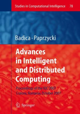 Advances in Intelligent and Distributed Computing