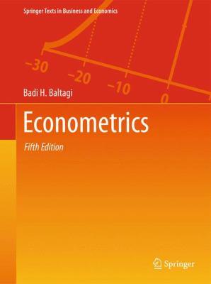 Econometrics (Springer Texts in Business and Economics)