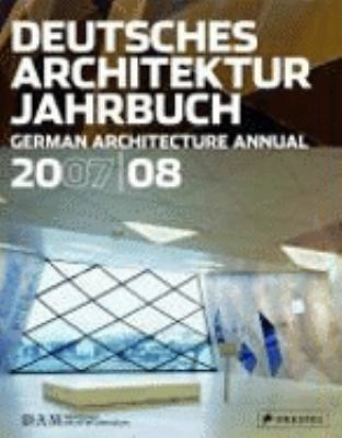 German Architectural Annual 2007/08