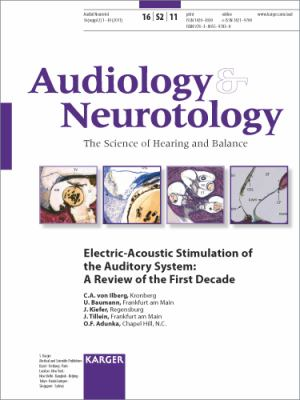Electric-Acoustic Stimulation of the Auditory System : A Review of the First Decade. Supplement Issue: 'Audiology and Neurotology 2011, Vol. 16, Suppl. 2'