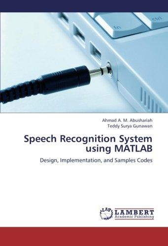 speech recognition example codes