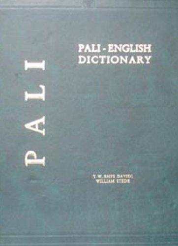 The Pali English Dictionary