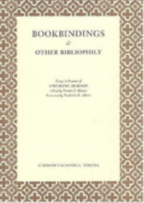 Bookbindings and Other Bibliophily